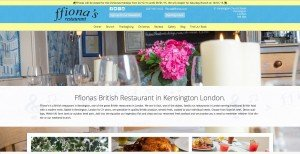 Ffionas Restaurant Kensington